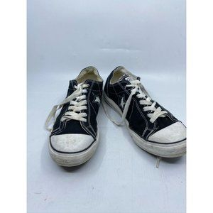 CONVERSE Sneakers White Black Women's Size 10